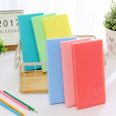 Large Capacity Ticket ID Holder Business Card Photo Album 120 Pockets Photocard