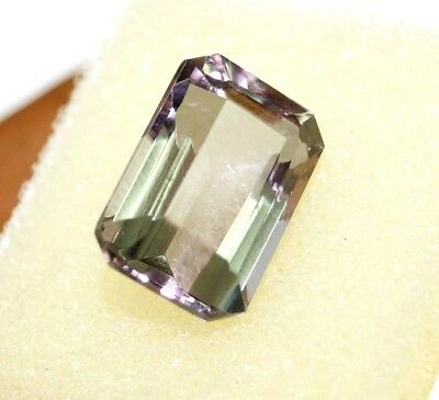 GGL Certified 10.10 Ct Charming Emerald Cut Color Changing Alexandrite Gemstone