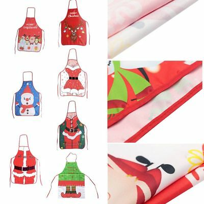 Christmas Sexy Men Women Kitchen Cooking Chef BBQ Party Apron / Xmas Tablecolth