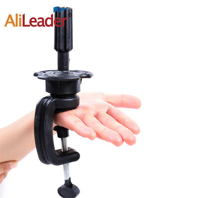 Mannequin Head Wig Holder Stand Display Table Clamp Clip Salon Cosmetology Tools