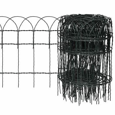 New Expandable Garden Lawn Edging Border Fence 10 x 0,4 m A8B5