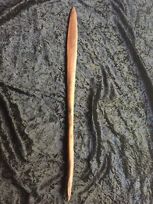 OLD EARLY ABORIGINAL SHORT SPEAR  ~ FROM PRIVATE COLLECTION! 56.5cm