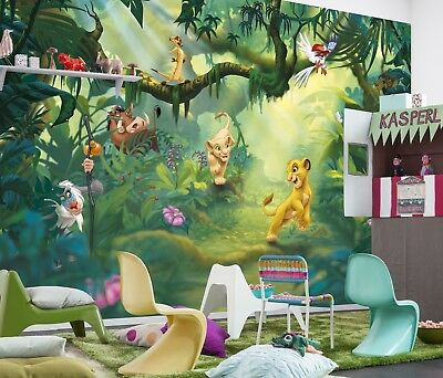 Lion King Wall Mural photo Wallpaper kids & baby room Disney decor NO adhesive