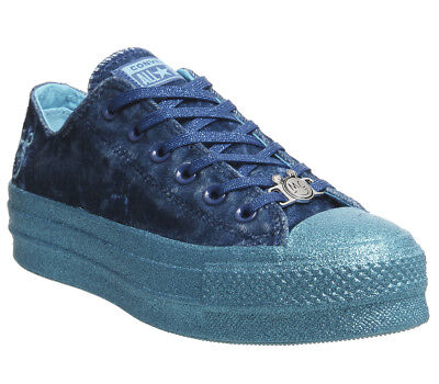8e17649a95c4 Womens Converse Ctas Lift Ox Trainers Gnarly Blue X Mc Trainers Shoes
