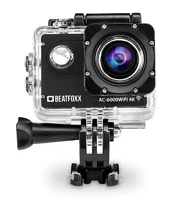 Caméra d'action Camescope 4K 25 Fps 12 MP HDMI SD Micro USB Actioncam Boîtier