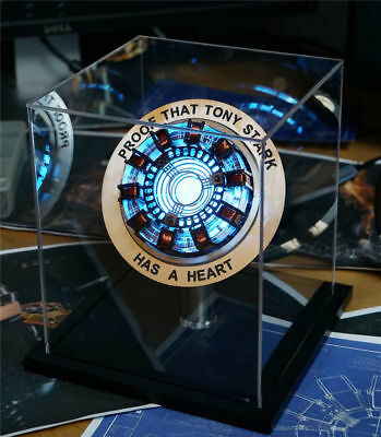 Iron Man Telecontrolled Reactor Scale Heart Pioneer Arc Ark Reactor LED Lights