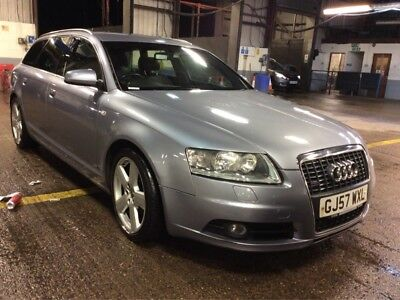 57 Audi A6 Avant 2.0 Tdi S-Line M-T Auto 5 Stamps *sat Nav & Leather* Long Mot!