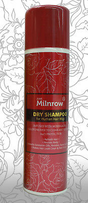 JUNE Milnrow DRY SHAMPOO for Human Hair Wigs. 24/7 Protection.