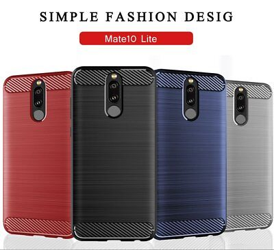 For Huawei Mate 10 Lite Pro Luxury Full Shockproof Hybrid Soft Case Cover