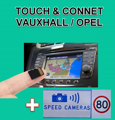 2018 Vauxhall Opel Touch&connect V7 Sd Card Europe Map Antara, Corsa D, Zafira B