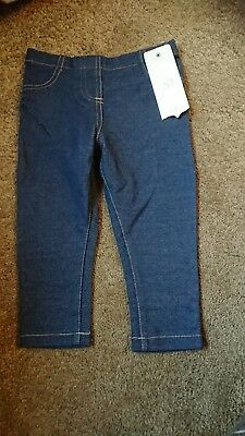 Gorgeous Girls Jeggings, 12-18 Months, F&F, Perfect For Christmas *Brand New*