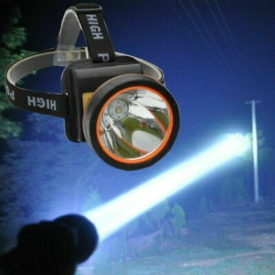 Head Torch LED Rechargeable Headlamp waterproof Super Bright Head Light Lamp