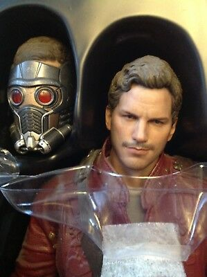 Guardians of the Galaxy Starlord 1/6 Scale Hot Toys Sideshow Figur