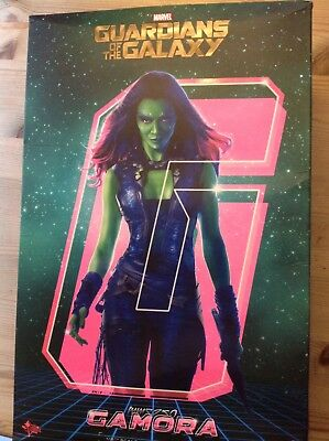 Guardians of the Galaxy Gamora 1/6 Scale Figur Hot Toys Sideshow