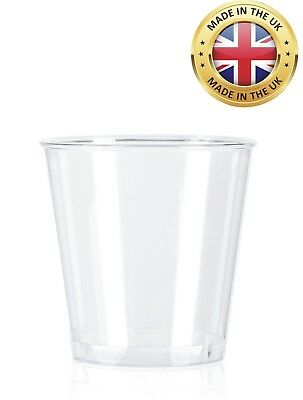 25ml Plastic Shot glass - CE marked - pack of 50 - disposable