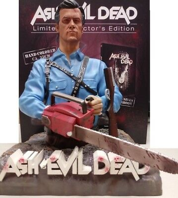 Ash vs Evil Dead Complete Collection - Limited Edition (Bust + Bluray) NO ITA