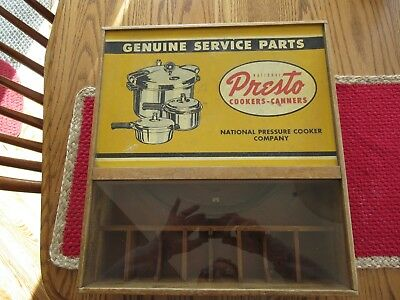 Antique General Store National Presto Display Case.