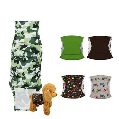 Male Dog Belly Band Soft Washable Pet Diaper Sanitary Wrap Physiological Pants