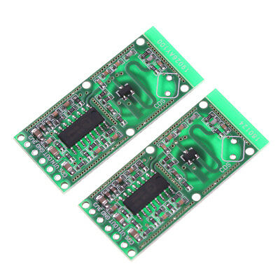 2PCS RCWL-0516 Microwave Radar Sensor Module Human Body Induction Switch Modu Eh