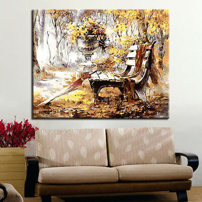 Diy Digital Oil Painting By Numbers Modern Wall Art Landscape Fashion Framework