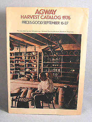 Agway Harvest Catalog 1976, The way retailing was 125 years ago.