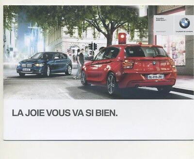 Catalogue / Brochure BMW Serie 1