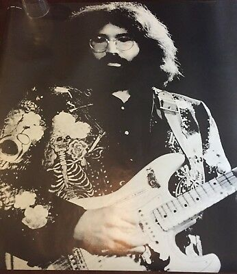 "ORIGINAL JERRY GARCIA PERSONALITY POSTERS BLACK & WHITE 27"" x 38"""