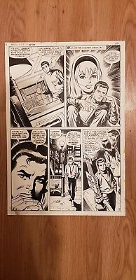Amazing Spider-Man #78, pg. 15. 1969. Original art. By Buscema and Mooney.