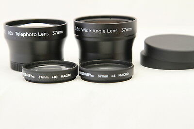 LENSBABY Accesories Kit Telephoto Wide Angle Macro Lens