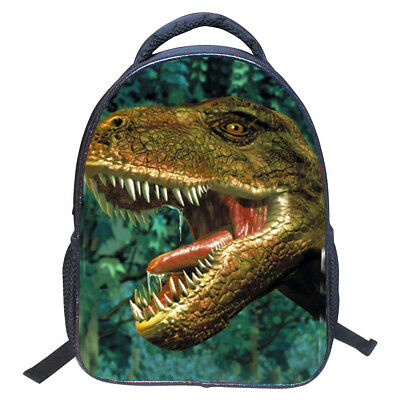 Kids Boys Girls 3D Print Dinosaur School Backpack Bag Shoulder for Kindergarden