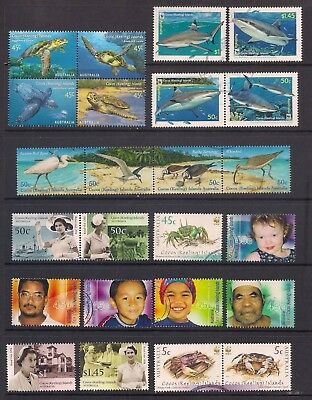 Cocos Islands Large Mix of 74 Different w/FDC and SS   mint/used    S22