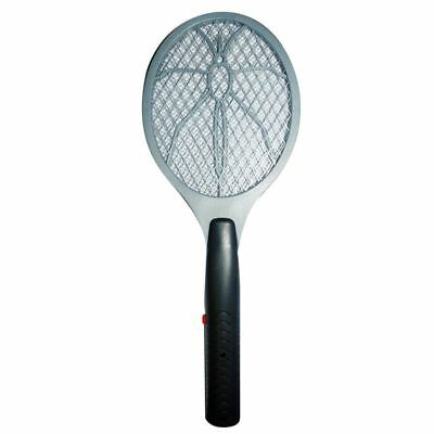 Electronic Bug Zapper Electric Fly Insect Swatter Mosquito Wasp Killer Swat Grey