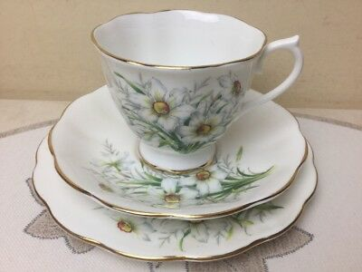 Royal Albert Friendship Series Narcissus Trio Unused Condition 1st Quality