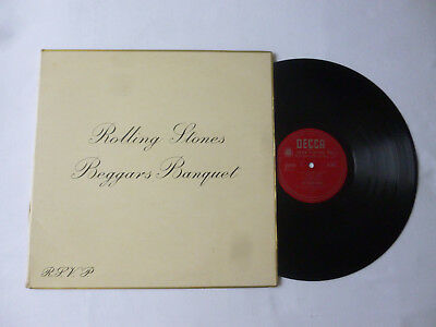 The Rolling Stones ~ Beggars Banquet ~ 1968 Mono Uk 1St Press Rock Vinyl Lp