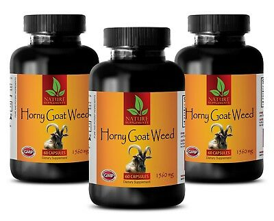 horny goat weed supplement - HORNY GOAT WEED 1560MG 3B - energy booster vitamins