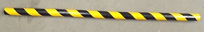 "Knuffi Edge Bumper Guard Black And Yellow, Type  B, 60-6712, 39 3/8"" X 1 9/16"""