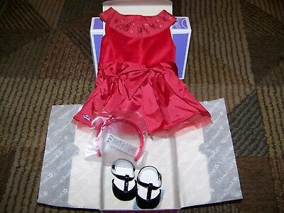 "American Girl MY AG JOYFUL JEWELS OUTFIT for 18"" Dolls Retired Dress NEW"