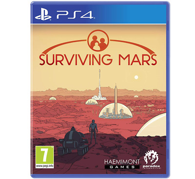 Surviving Mars (PS4) New & Sealed - Free Delivery