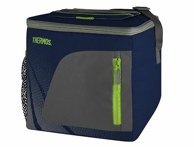 Thermos Insulated Cooler | Navy/Grey/Lime | 24can/ 16L