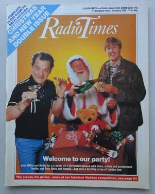 Radio Times magazine CHRISTMAS 1985 Only Fools and Horses VFN- (phil-comics)