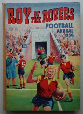 Roy of the Rovers comic annual 1958 #1 Tiger FR/GD (phil-comics)