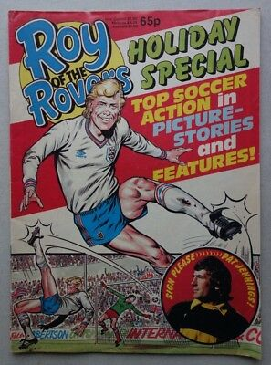 Roy of the Rovers Holiday Special comic c1986 VG (phil-comics)