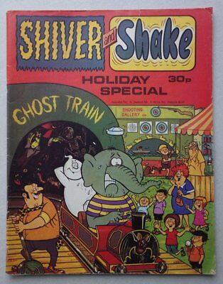 Shiver and Shake Holiday Special comic 1977 G/VG (phil-comics)