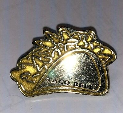 Taco Bell Golden Taco Lapel Pin