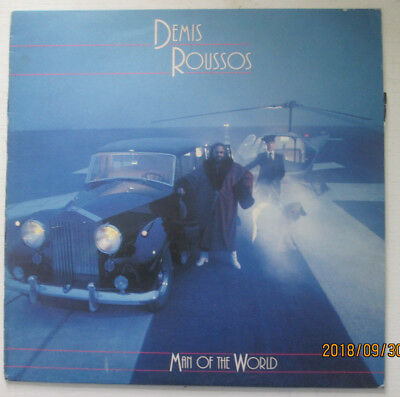 Demis Roussos. Man Of The World. Press Copy With Pic & Info.philips 33Rpm Lp.