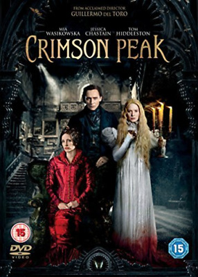 Crimson Peak (UK IMPORT) DVD NEW