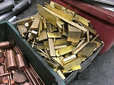 2 Kg Solid BRASS Extrusions OFF CUTS Angle Round Square Flat Bar Extruded