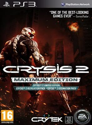 Crysis 2 Maximum Edition☑️PlayStation 3 PS3🎮Digital Game☑️Download☑️Please Read