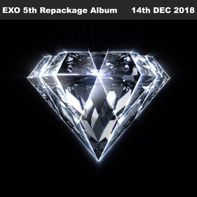 EXO Love Shot 5th Repackage Album 2SET CD+Photobook+Card+Etc+Tracking Number