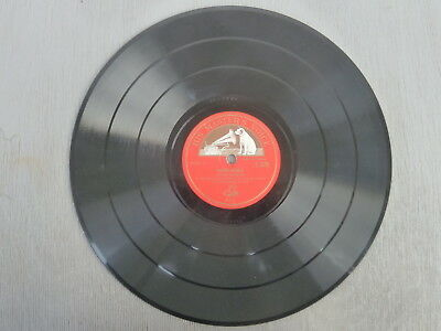 Crowd Scenes - Sound Effects, HMV - Schellackplatte, 78 rpm